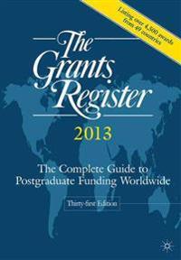 The Grants Register 2013