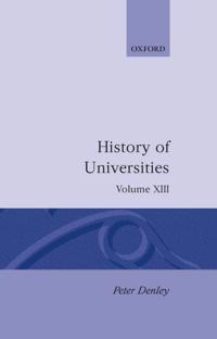 History of Universities: Volume XIII: 1994