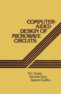 Computeraided Design of Microwave Circuits