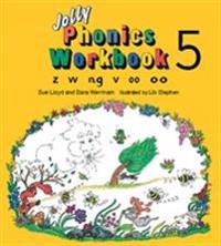 Jolly phonics workbook 5 - in precursive letters (be)