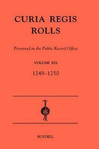 Curia Regis Rolls of the Reign of Henry III
