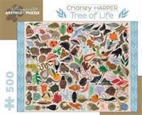 Charley Harper Tree of Life 500-Piece Jigsaw Puzzle Aa708