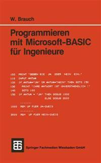 Programmieren Mit Microsoft-basic Für Ingenieure