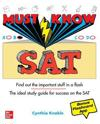 Must Know SAT