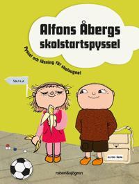 Alfons Åbergs skolstartspyssel