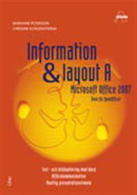 Information o layout A Office 2007 Fakta o övningar