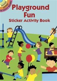 Playground Fun Sticker Activity Boo
