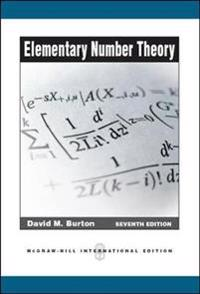 Elementary Number Theory (Int'l Ed)