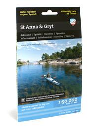 St Anna och Gryt (1:50 000)