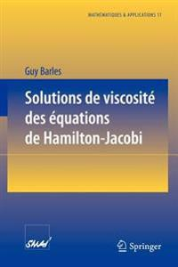 Solutions De Viscosite DES Equations De Hamilton -