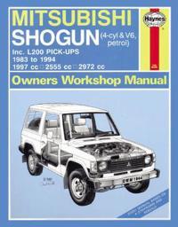 Mitsubishi Shogun & L200 Pick-Ups Service And Repa
