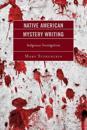 Native American Mystery Writing