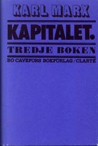Kapitalet : Tredje boken. Den politiska ekonomins totalprocess
