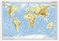 Posterkarten Geographie: Erde: physisch