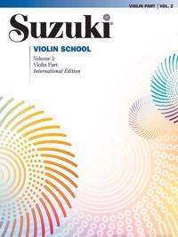 Suzuki Violin School: Violin Part, Volume 2