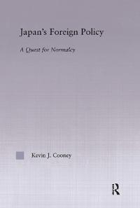 Japan's Foreign Policy Maturation