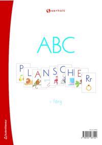 ABC-planscher i färg