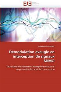 D�modulation Aveugle En Interception de Signaux Mimo