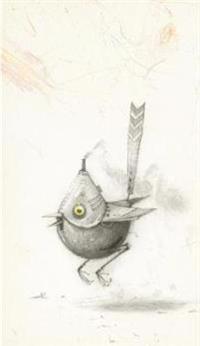 Shaun Tan Notebook - Bee Eater (Yellow)