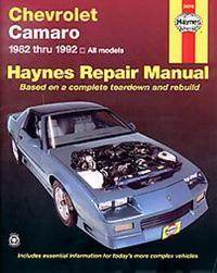 Chevrolet Camaro, 1982-1992