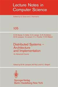 Distributed Systems - Architecture and Implementation