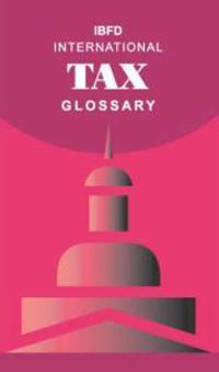 International Tax Glossary