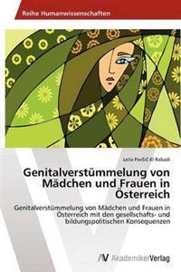 Genitalverstummelung Von Madchen Und Frauen in Osterreich