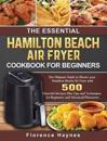 The Essential Hamilton Beach Air Fryer Cookbook For Beginners