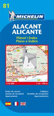 Map 9081 Alicante