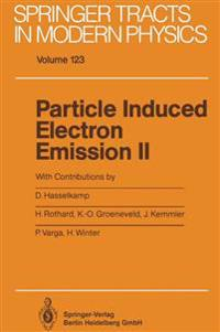 Particle Induced Electron Emission II