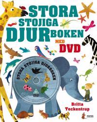 Stora stojiga djurboken med DVD