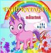 Enhörningar Målarbok för Barn: Söta och magiska enhörningar för barn i åldrarna 4-8 år   40 unika och förtjusande mönster för pojkar och flickor