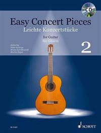 Easy Concert Pieces for Guitar - Volume 2 [With CD (Audio)]