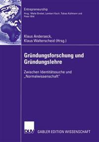 Grundungsforschung Und Grundungslehre