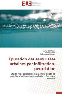 Epuration Des Eaux Us�es Urbaines Par Infiltration-Percolation