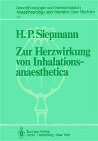 Zur Herzwirkung von Inhalationsanaesthetica