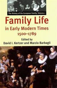 Family Life in Early Modern Times 1500-1789