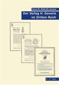 Der Verlag H. Goverts Im Dritten Reich