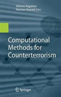 Computational Methods for Counterterrorism