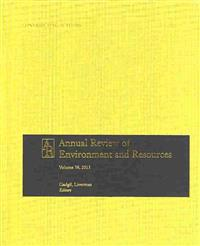 Annual Review of Environment and Resources 2013
