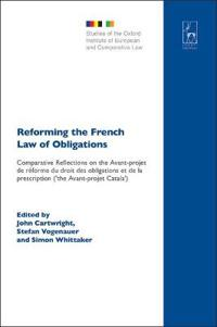 Reforming the French Law of Obligations