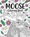 Moose Coloring Book