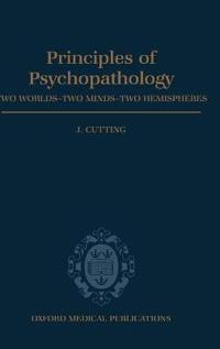 Principles of Psychopathology