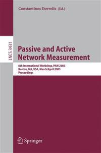 Passive and Active Network Measurement