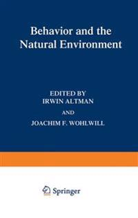 Behavior and the Natural Environment