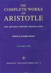 Complete Works of Aristotle vol. 1