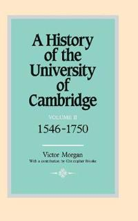 A History of the University of Cambridge A History of the University of Cambridge: Series Number 2