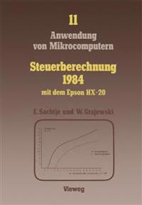 Steuerberechnung 1984 Mit Dem Epson Hx-20