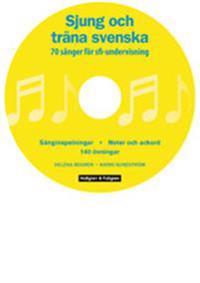 Sjung och träna svenska DVD