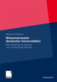 Wissenstransfer Deutscher Universitaten